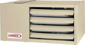 Garage unit heater from Lennox.