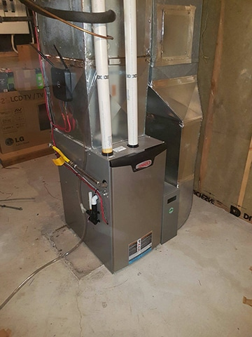 Why Does Our High Efficiency Gas Furnace Vent Hot