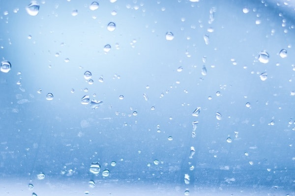 Humidity on window.