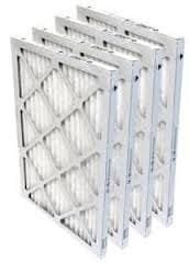 Normal 1 inch furnace air filters.