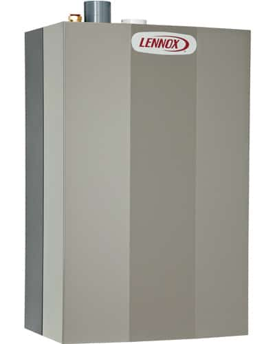 Lennox tankless water heater.